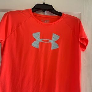 Bright Coral Under Armour Shirt
